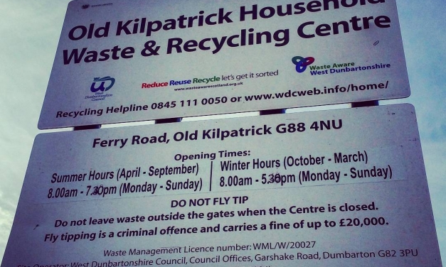 Would the Old Kilpatrick Recycling Centre be missed if it closed?