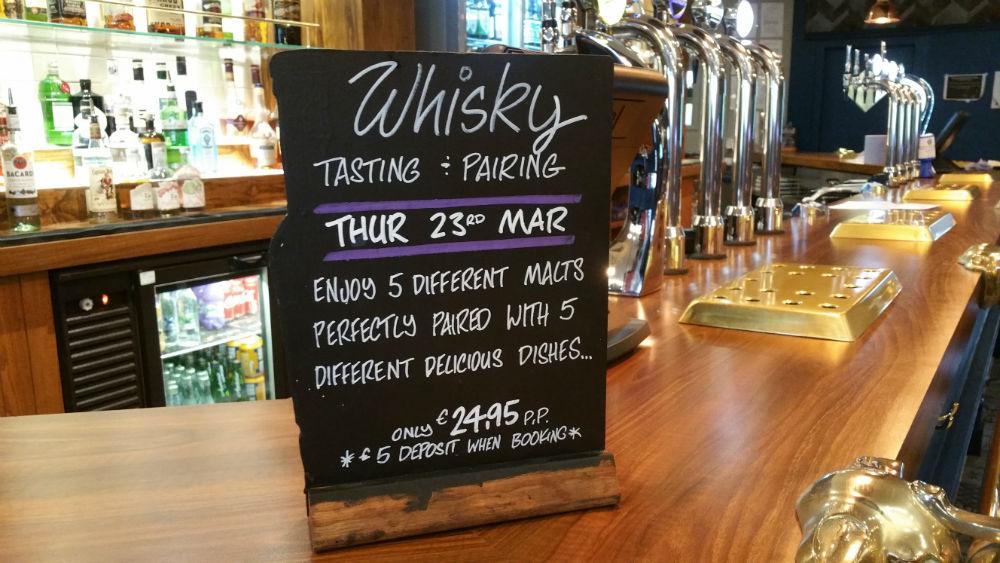 Whisky Tasting at The Glen Lusset
