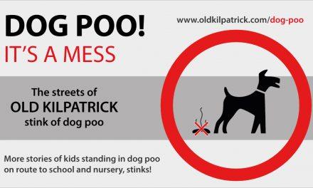 Old Kilpatrick Dog Poo Problem!