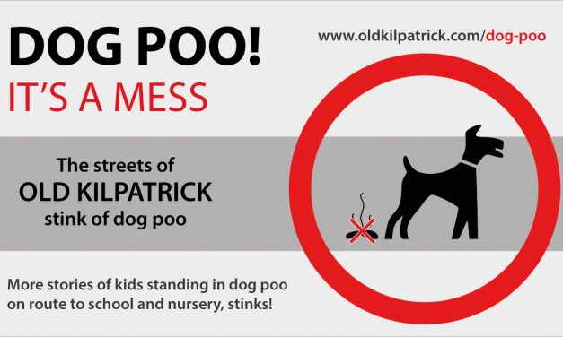 Old Kilpatrick Dog Poo Problem!
